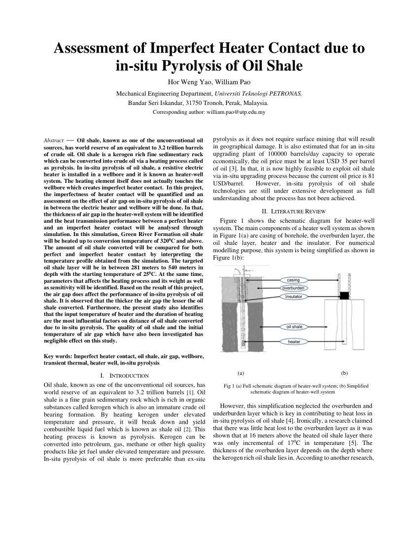 medium resolution of radial distance converted into shale oil by heater 6 download scientific diagram