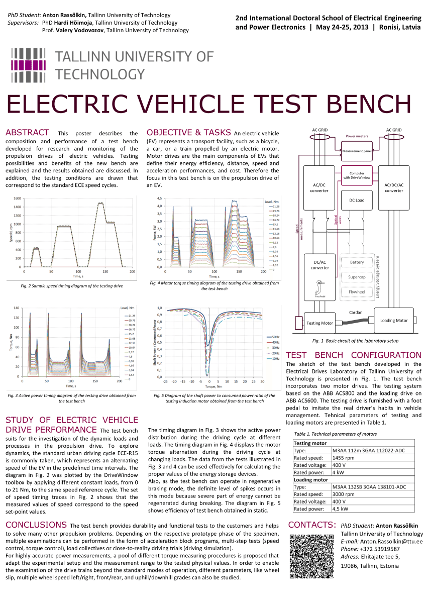 medium resolution of  pdf electric vehicle test bench