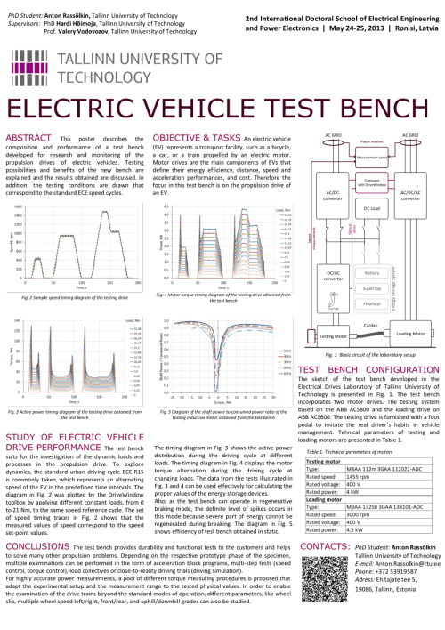 small resolution of  pdf electric vehicle test bench