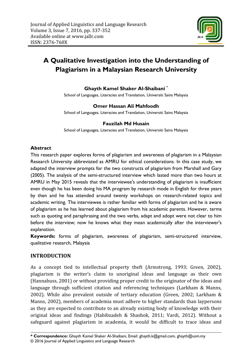 A Qualitative Investigation Into The PDF Download Available