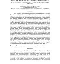 pdf pengaruh aktivitas masyarakat terhadap kerusakan hutan mangrove di rarowatu utara bombana sulawesi tenggara [ 850 x 1100 Pixel ]