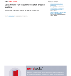 pdf using moeller plc in automation of an artesian fountains [ 850 x 1203 Pixel ]