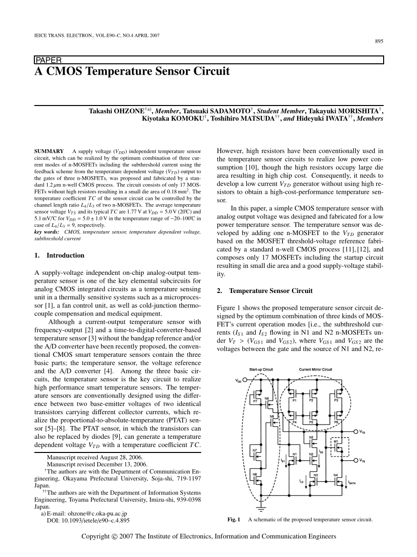 medium resolution of  pdf a temperature and supply voltage independent cmos voltage reference circuit