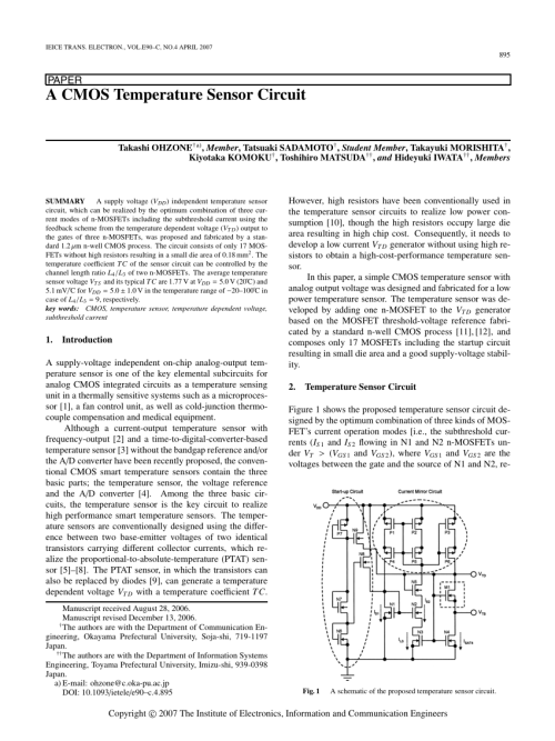small resolution of  pdf a temperature and supply voltage independent cmos voltage reference circuit