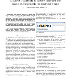 pdf diminst software to support selection and sizing of components for electrical wiring [ 850 x 1100 Pixel ]
