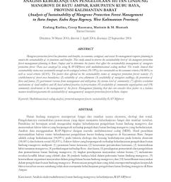 pdf strategi keberlanjutan pengelolaan hutan mangrove di tahura ngurah rai bali [ 850 x 1202 Pixel ]