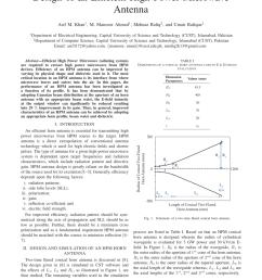 pdf design of an efficient high power microwave antenna [ 850 x 1100 Pixel ]