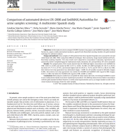 pdf evaluation of the analytical performances of cobas 6500 and sysmex un series automated urinalysis systems with manual microscopic particle counting [ 850 x 1133 Pixel ]