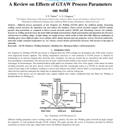 pdf a review on effects of gtaw process parameters on weld [ 850 x 1100 Pixel ]