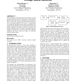 pdf hardware implementation of e nose in arm 7 board through neural networks [ 850 x 1202 Pixel ]