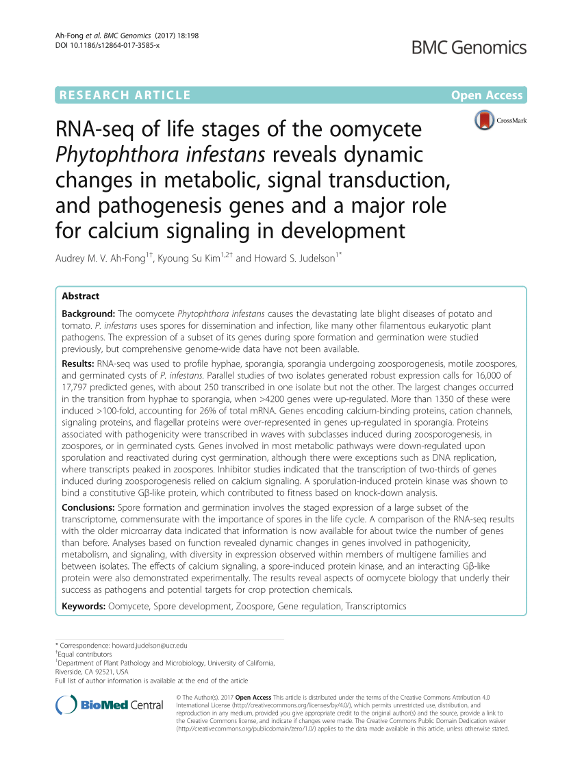 hight resolution of  pdf genomics analysis of aphanomyces spp identifies a new class of oomycete effector associated with host adaptation