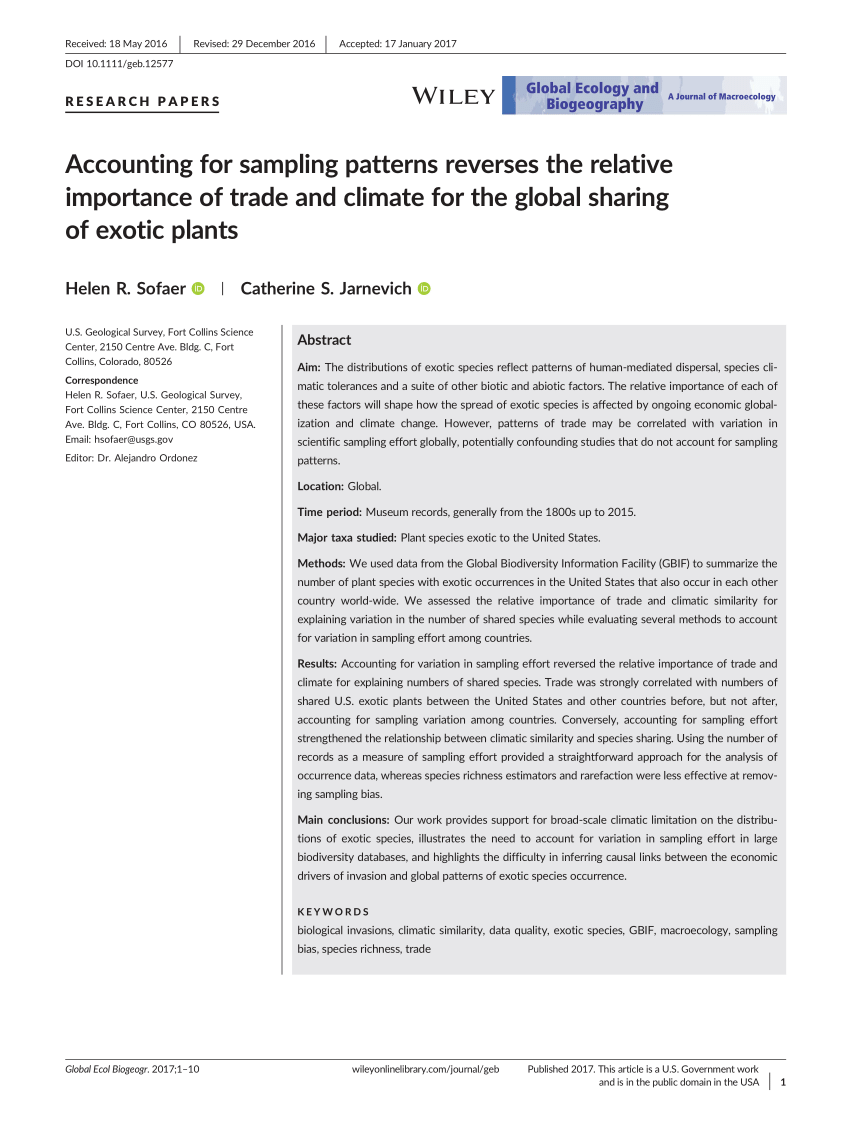sam sofaer custom design sofas pdf accounting for sampling patterns reverses the relative importance of trade and climate global sharing exotic plants jarnevich