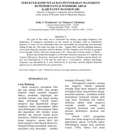 pdf struktur komunitas dan penyebaran mangrove serta upaya pengelolaannya oleh masyarakat distrik teminabuan kabupaten sorong selatan [ 850 x 1100 Pixel ]