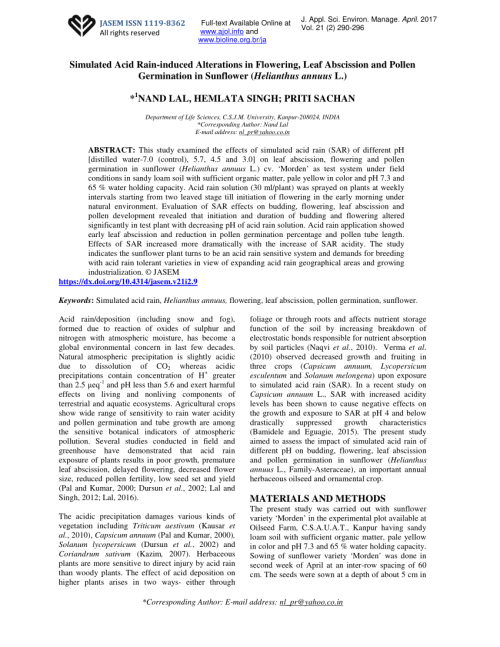 small resolution of  pdf effects of acid rain on plant growth and development