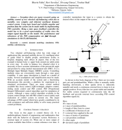 pdf stable control system of two wheel self balancing robot [ 850 x 1202 Pixel ]