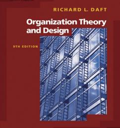 pdf essential organization theory and design [ 850 x 1065 Pixel ]