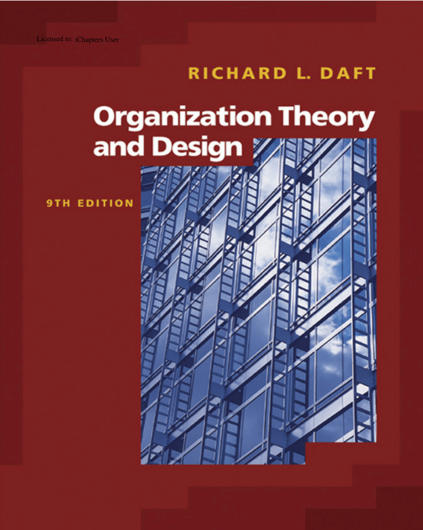 medium resolution of  pdf essential organization theory and design