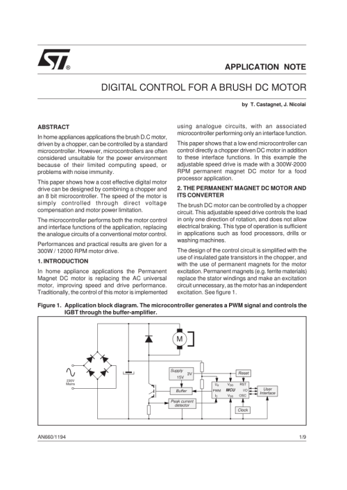 small resolution of  pdf digital control for brush dc motor