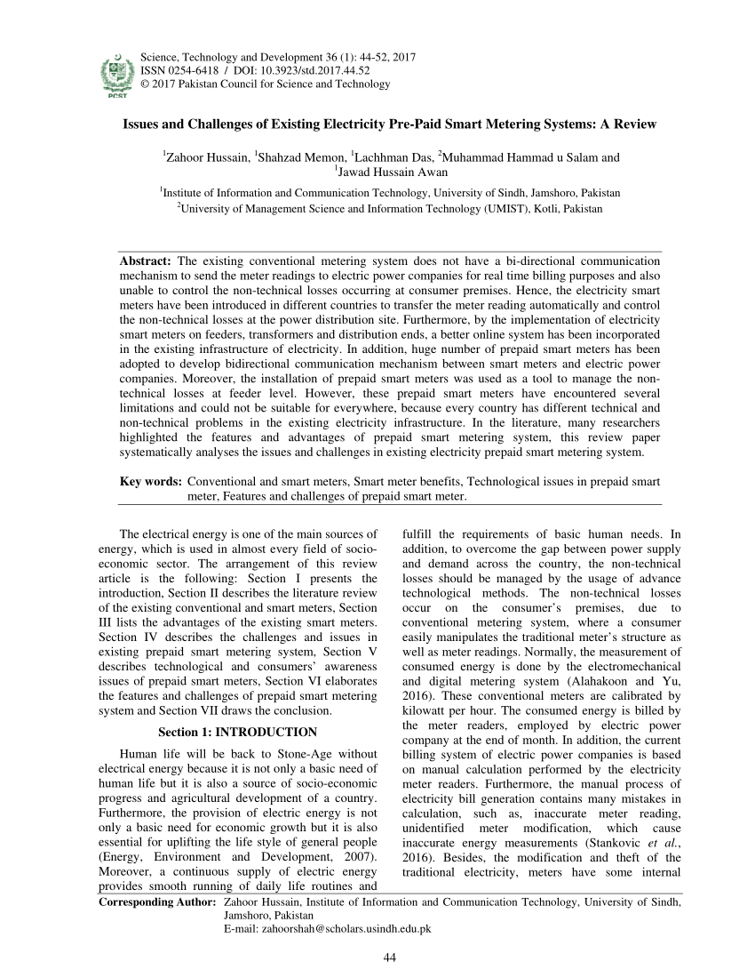 medium resolution of  pdf methods and techniques of electricity thieving in pakistan