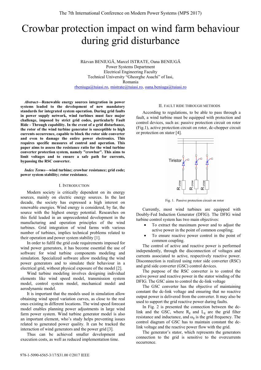 medium resolution of  pdf crowbar system in doubly fed induction wind generators