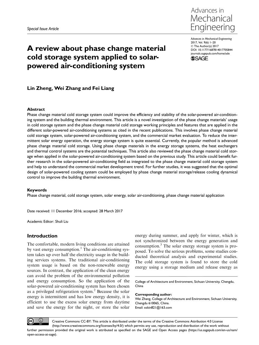 medium resolution of  pdf solar powered air conditioning system