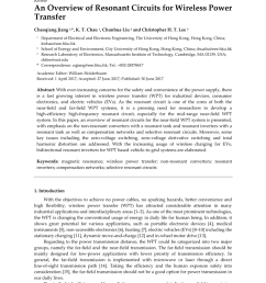 pdf an overview of resonant circuits for wireless power transfer [ 850 x 1202 Pixel ]