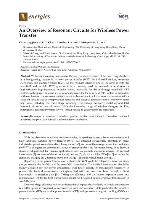 small resolution of  pdf an overview of resonant circuits for wireless power transfer