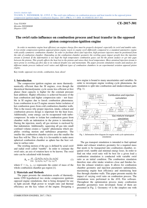 small resolution of information flow diagram for engine work cycle optimization simulations download scientific diagram