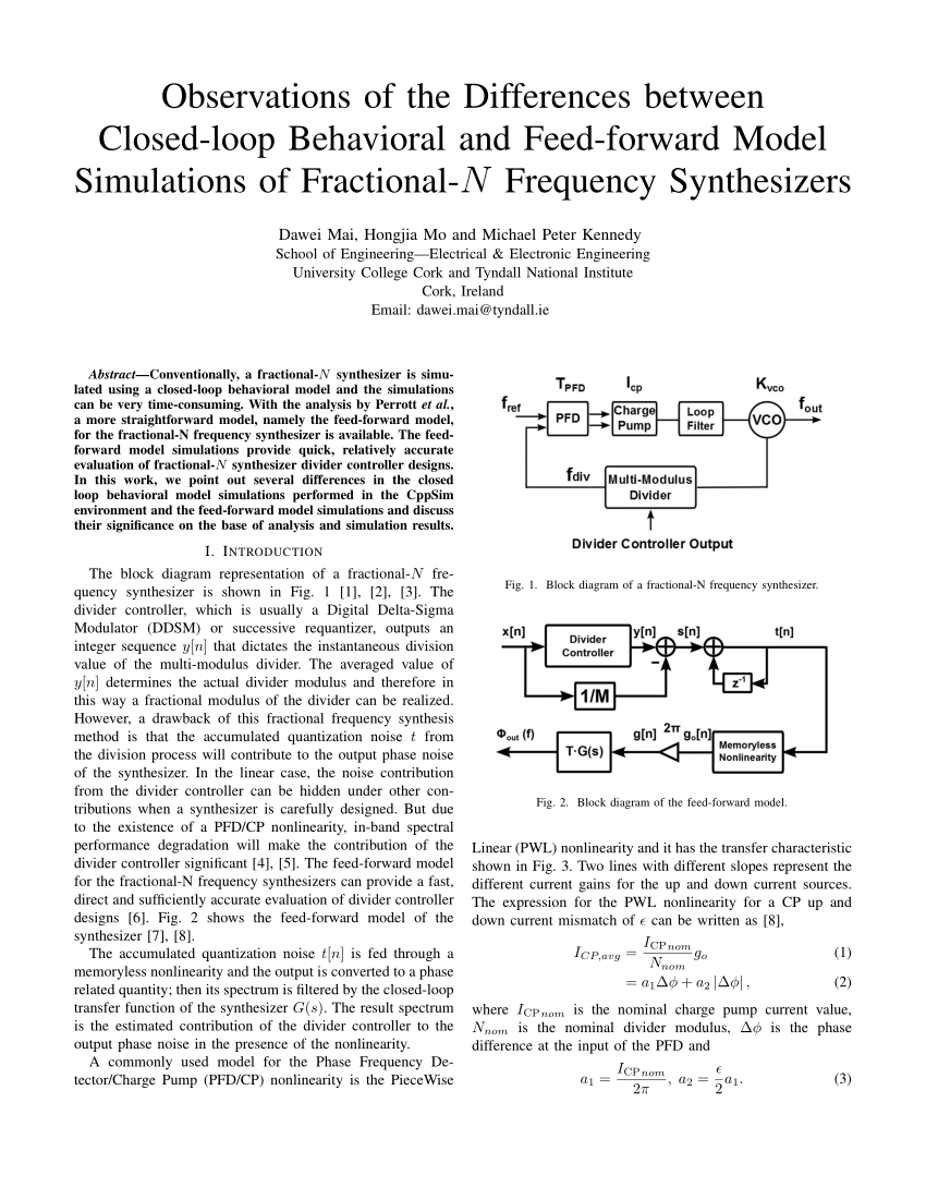 medium resolution of block diagram of a fractional n frequency synthesizer the combination download scientific diagram