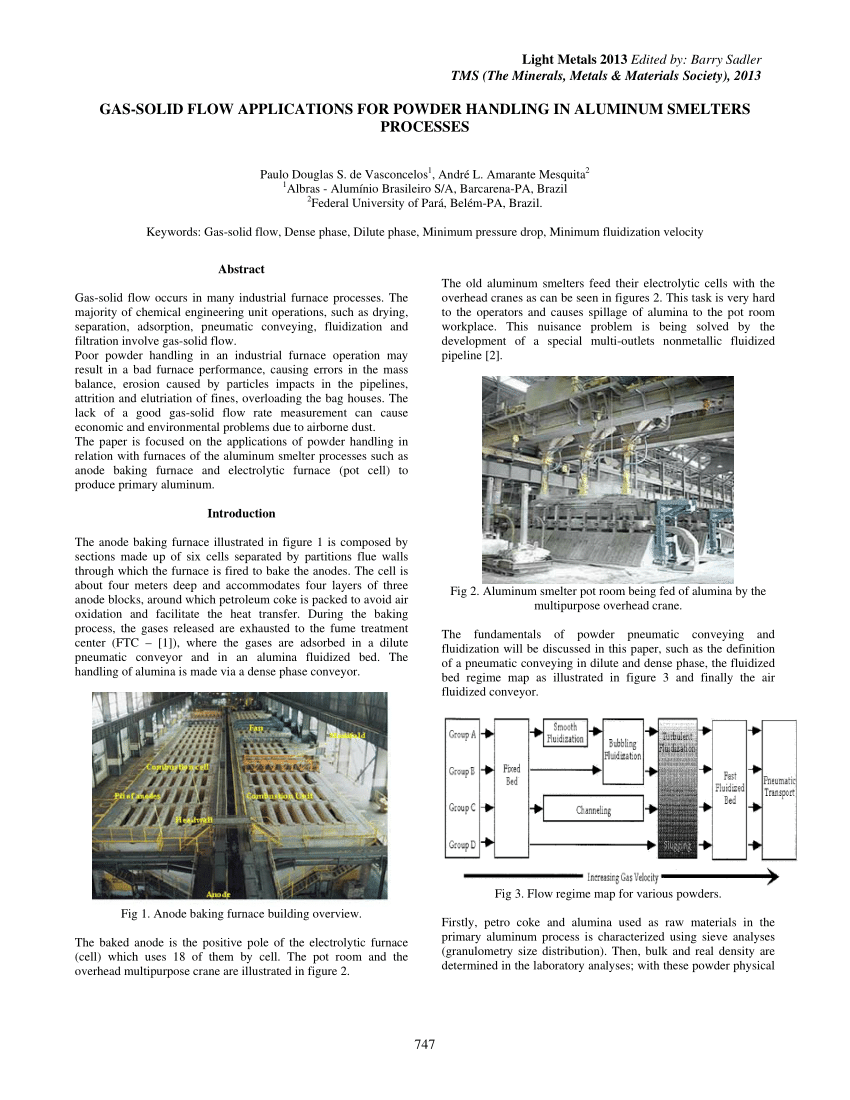 (PDF) Gas-Solid Flow Applications for Powder Handling in