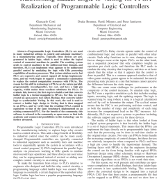 pdf transforming ladder logic to verilog for fpga realization of programmable logic controllers [ 850 x 1100 Pixel ]