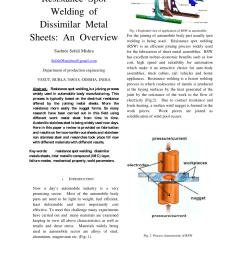 schematic diagram of the resistance spot welding fume generation and download scientific diagram [ 850 x 1202 Pixel ]