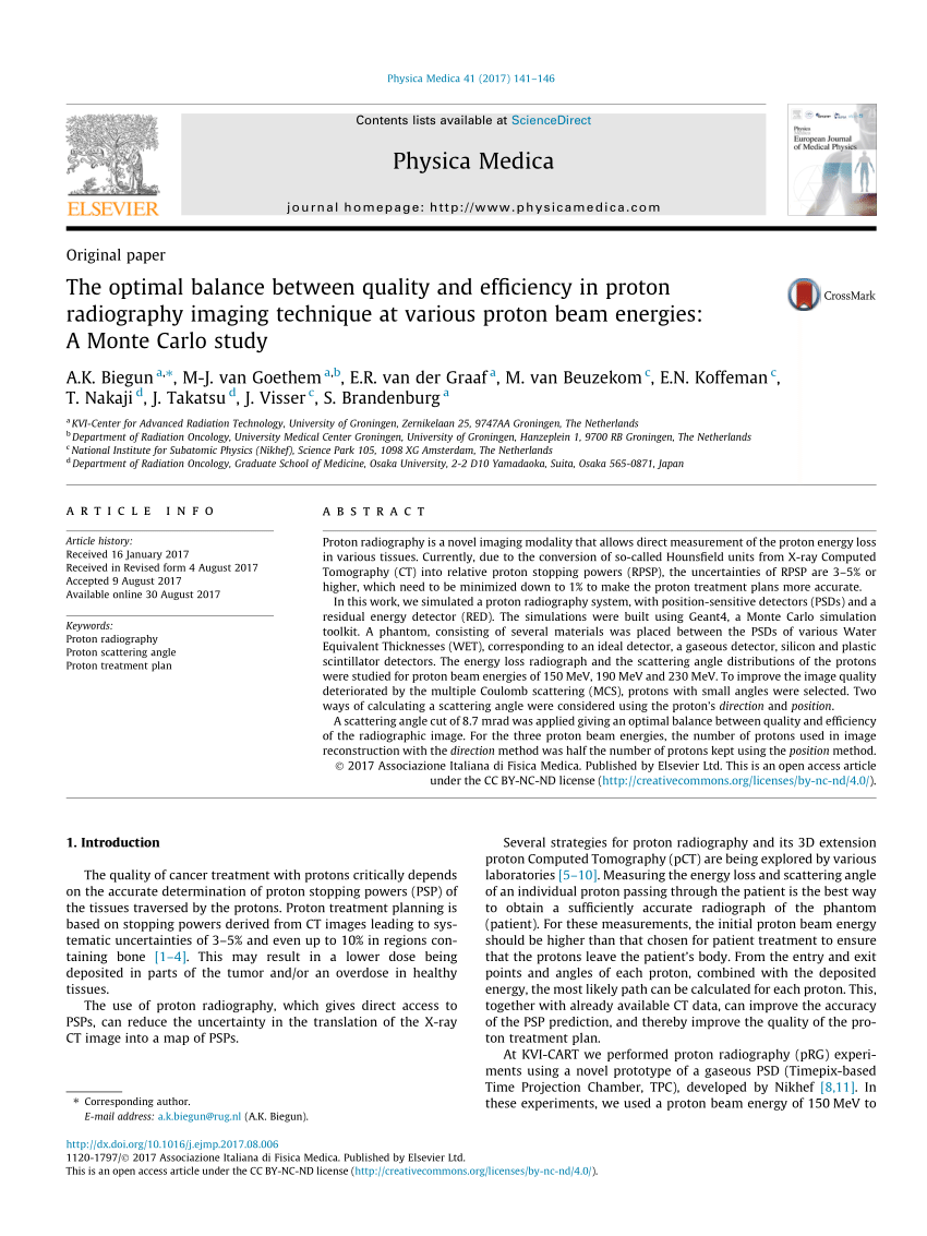 medium resolution of  pdf proton radiography and tomography with application to proton therapy