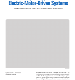 pdf overview of retrofitting options in induction motors to improve their efficiency and reliability [ 850 x 1161 Pixel ]