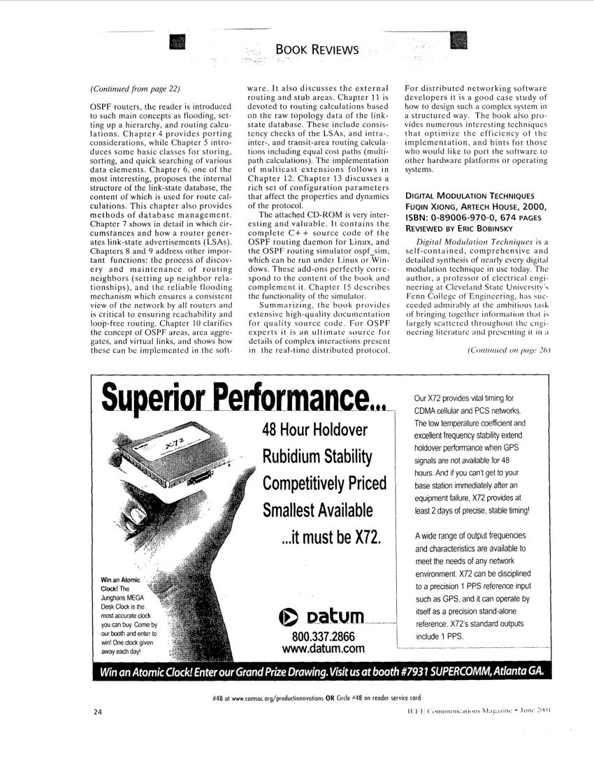 (PDF) Digital modulation techniques [Book Review]