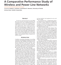pdf a comparative performance study of wireless and power line networks [ 850 x 1138 Pixel ]