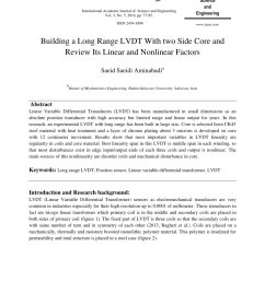 pdf building a long range lvdt with two side core and review its linear and nonlinear factors [ 850 x 1160 Pixel ]
