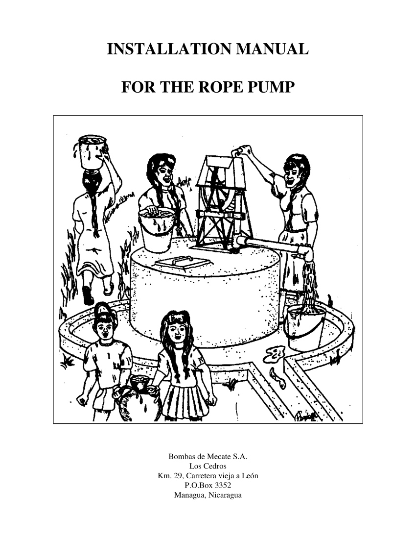 (PDF) INSTALLATION MANUAL FOR THE ROPE PUMP
