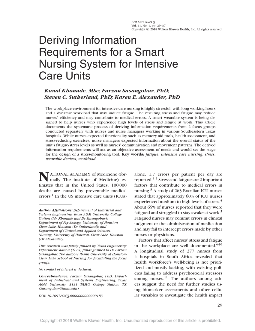 (PDF) Deriving Information Requirements for a Smart ...