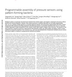 pdf programmable assembly of pressure sensors using pattern forming bacteria [ 850 x 1121 Pixel ]