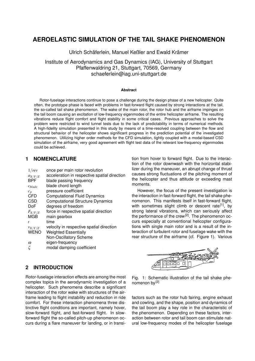 hight resolution of nastran model of the helicopter s airframe the tail shake download scientific diagram