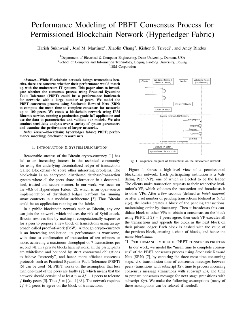 medium resolution of  pdf a review on the use of blockchain for the internet of things
