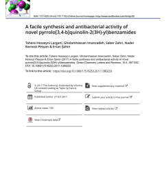 pdf biological formation of pyrroles nature s logic and enzymatic machinery [ 850 x 1117 Pixel ]