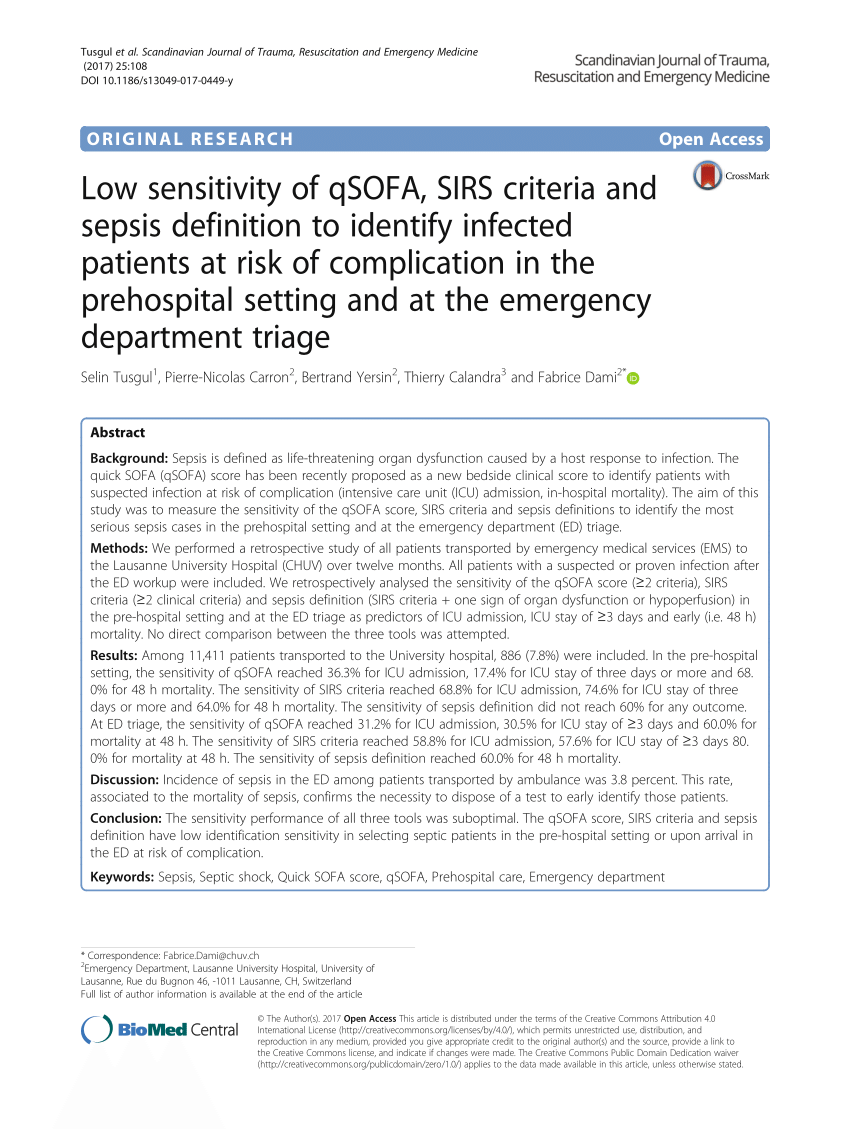 sofa score calculator excel stanton sofas spokane pdf low sensitivity of qsofa sirs criteria and sepsis definition to identify infected patients at risk complication in the prehospital setting