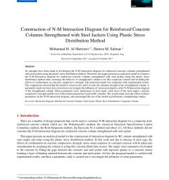pdf construction of n m interaction diagram for reinforced concrete columns strengthened with steel jackets using plastic stress distribution method [ 850 x 1203 Pixel ]