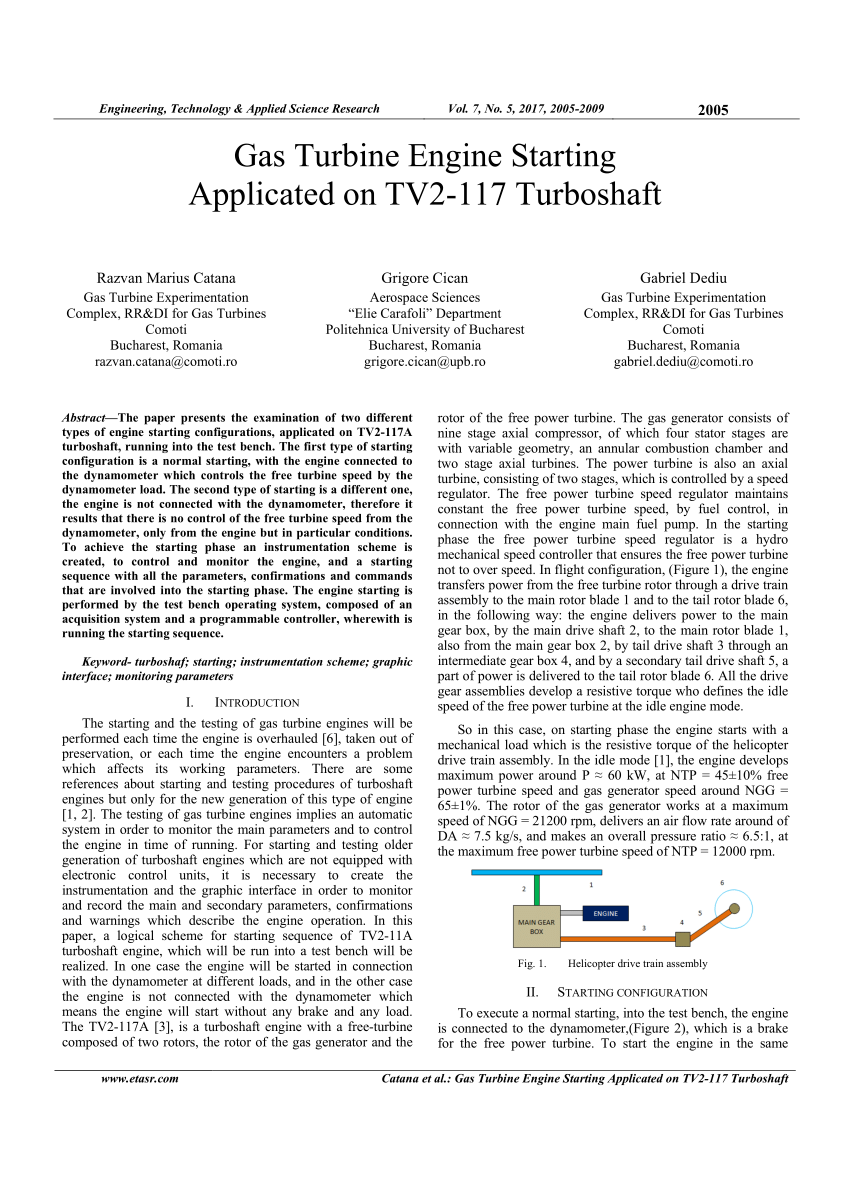 hight resolution of  pdf gas turbine engine starting applicated on tv2 117 turboshaft
