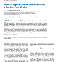 pdf review of application of the electrical structure in resistance spot welding [ 850 x 1154 Pixel ]