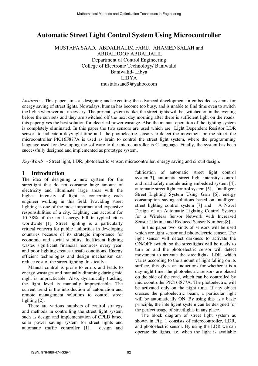 medium resolution of circuit diagram for automation of street light download scientific diagram