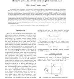 pdf power factor compensation of electrical circuits [ 850 x 1226 Pixel ]