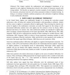 PDF) Cultivating Early Algebraic Thinking [ 1203 x 850 Pixel ]